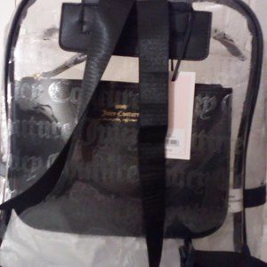 Juicy Coutoure Clear Skies Large Stadium Backpack